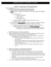 mkt exam 2 chp notes -2.docx