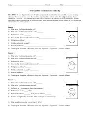 Session 3 Osmosis Tonicity Worksheet - Name Period Date ...