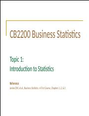 Topic 1 (Supplementary) Introduction to Statistics.pptx