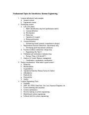 Fundamental Topics for Introductory Systems Engineering rev (5--8-2010)