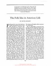 Suckow 1930 - The Folk Idea in American Life.pdf