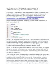 Week 5 System Interface.docx