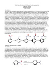 Multi-Step Synthesis Report