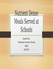Policy- Nutrient dense meals.pptx