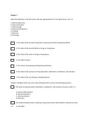 PHR101 Week 1 Assignment Worksheet