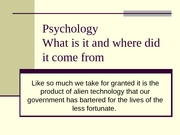 lec 02 - History of Psychology