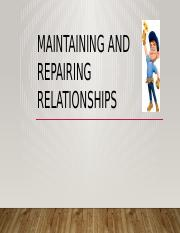 HDFS 1610 F2016 Ch 14 Maintaining and Repairing Relationships(1) (1)