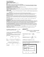 Exam 2 Financial Mgmt Study Sheet Exam Material
