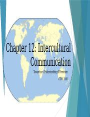 Chapter 12 - Intercultural Communication-3