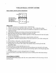 Volleyball_Study_Guide