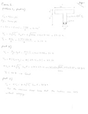 Exam 2 Solution on Reinforced Concrete Design