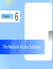 Chapter 6 The Medium Access Sublayer.pdf