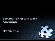 Database Security Plan WWA _BTrue