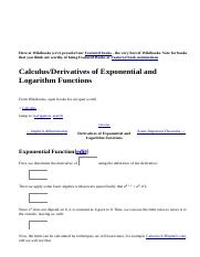 Exponential and Logarithm Functions.htm