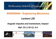 Lect26(Angular impulse and momentum).ppt