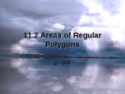 11.2  Area of reg polygons