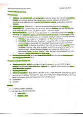 Reducing substance use and abuse notes