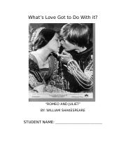 Romeo and Juliet student packet 2014.docx