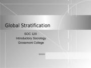 Global Stratification