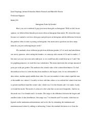 Math 150 project final essay