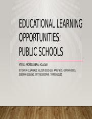 Educational Learning Opportunities PPT- Team A (2) (1).pptx