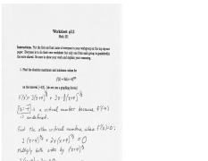 Worksheet13 solutions