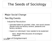Topic 2 What is Sociology for BLACKBOARD