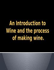 day 5 The Wine Process ppt. 1
