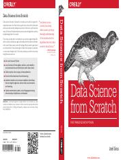 Data Science from Scratch- First Principles with Python