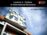 Lecture 4 - Cutlture in International Business.ppt