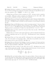 MATH 105 Homework 6 Solutions