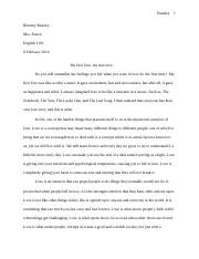 brittany's essay