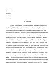 The Book Thief review.docx