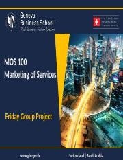 MOS 100 - Friday Group Project
