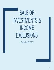 Sale of Investments  - 9-8-16.pdf
