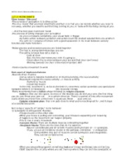 Neuro Notes Part II