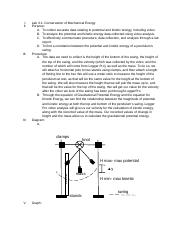 Conservation of Mechanical Energy Lab.docx