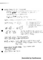 Lattice Energy of Ionic Compounds Notes