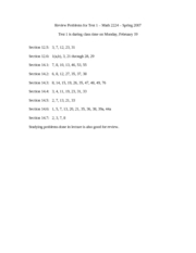 Review Problems for Test 1_Math 2224