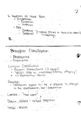EASC 210  Fall 2014 Biological Classification Lecture Notes