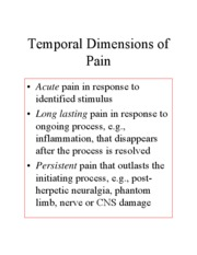 2008 The gain from pain- minimizing potential damage to the body