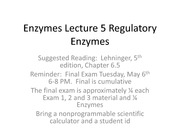 Enzymes Lecture 5 Regulation 2014 spring animated (1)