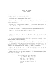 UPenn MATH 260 2013 Midterm 2 with Solutions