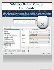 X-Mouse Button Control User Guide