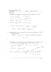 Math 110 Midterm 2 Solutions