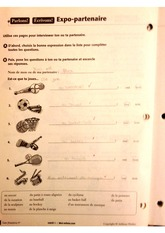 Expo-parthenaire worksheet