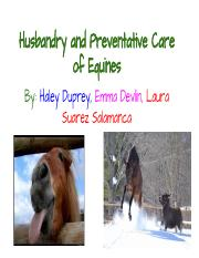 Husbandry and Preventative Care of Equines.pdf