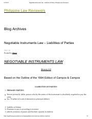Negotiable Instruments Law – Liabilities of Parties _ Philippine Law Reviewers.pdf