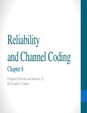 C8 Reliabililty And Channel Coding