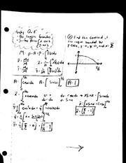 MAT 241 - Quiz Review Arc Length and Surface Area